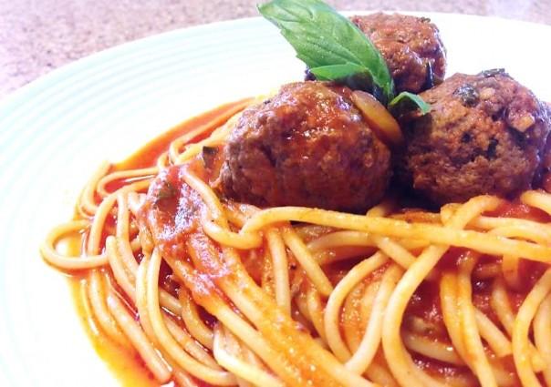 Spahetti with Meatballs