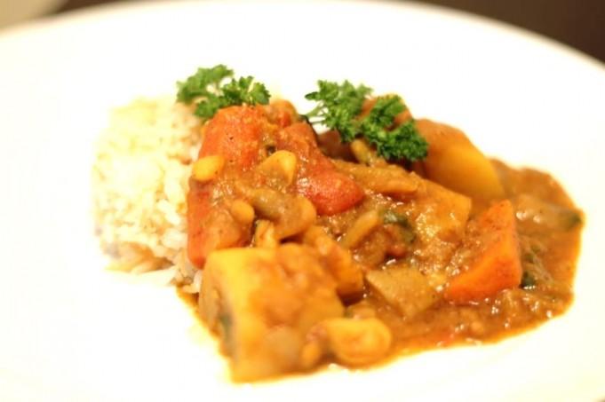 Moroccan Potato Stew