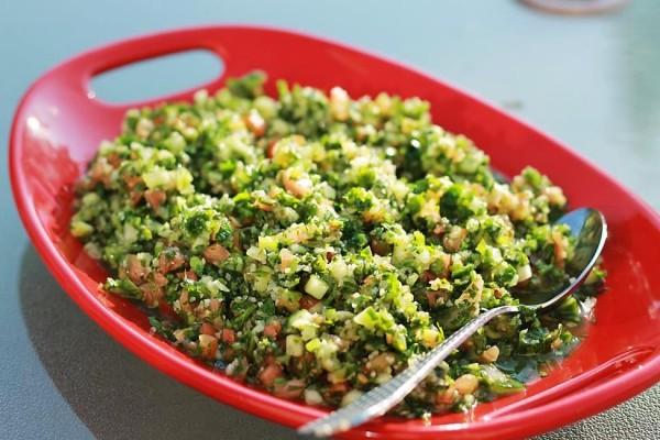 Top 10 Mediterranean Salad Recipes: Traditional Tabouli Salad Recipe | The Mediterranean Dish