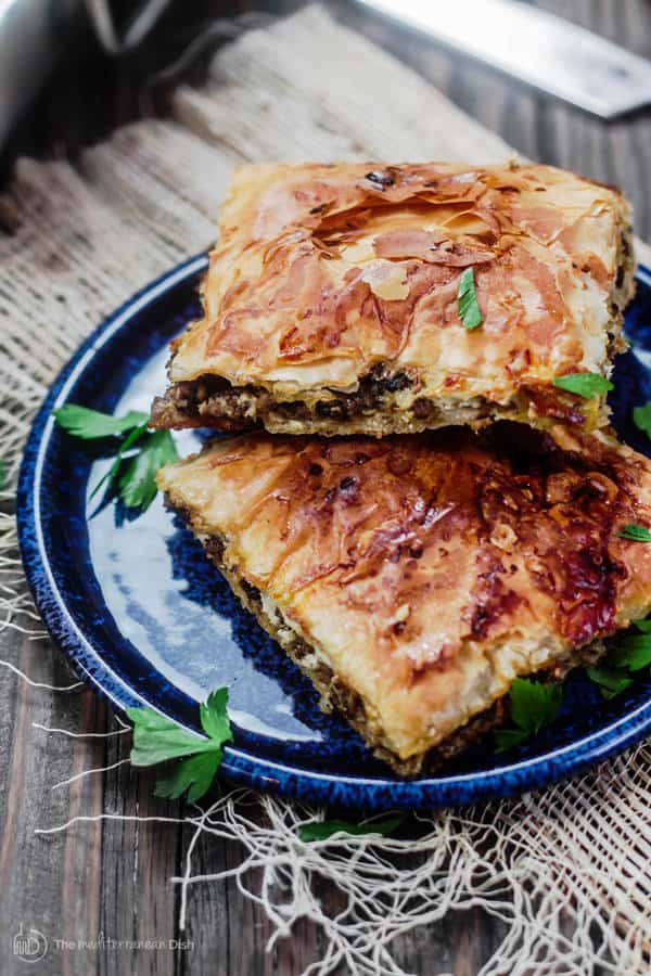 Phyllo meat pie recipe the mediterranean dish phyllo meat pie recipe egyptian goulash the mediterranean dish spiced ground beef forumfinder