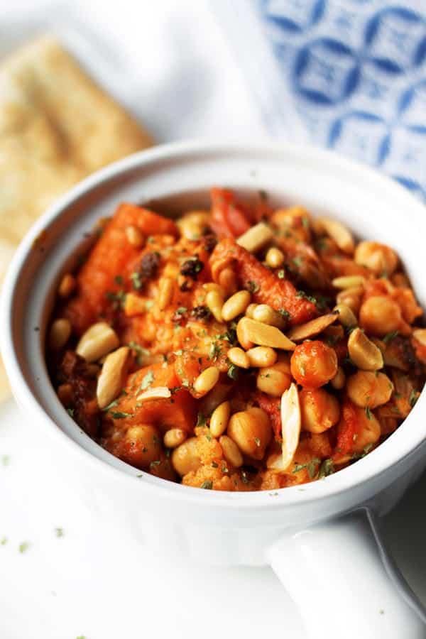 Chickpea Stew and Cauliflower Recipe
