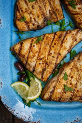 Grilled Swordfish Recipe with a Mediterranean Twist