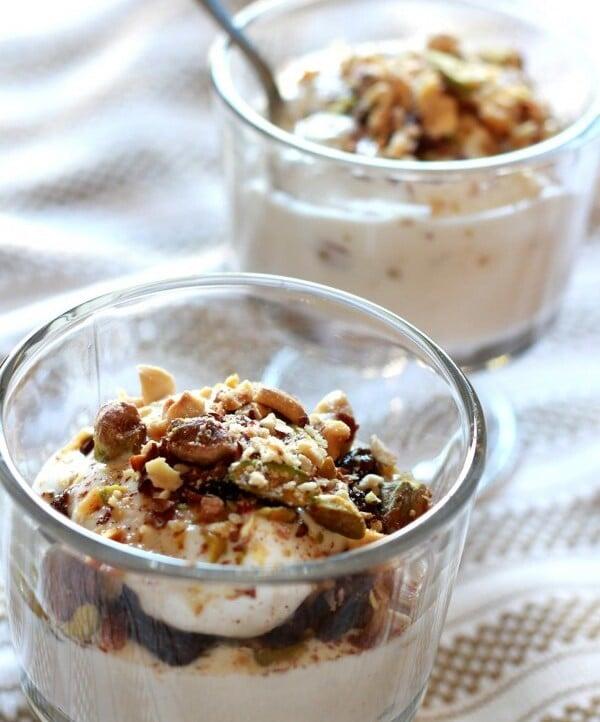Greek Yogurt Parfait - www.themediterraneandish.com