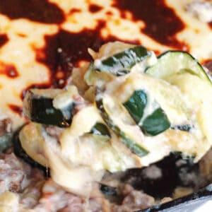 Zucchini Bechamel Casserole Recipe