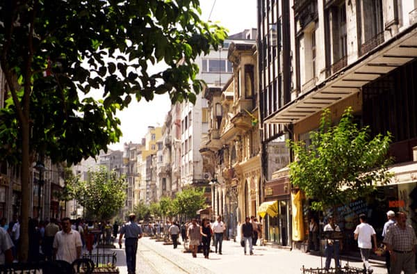 Downtown Istanbul