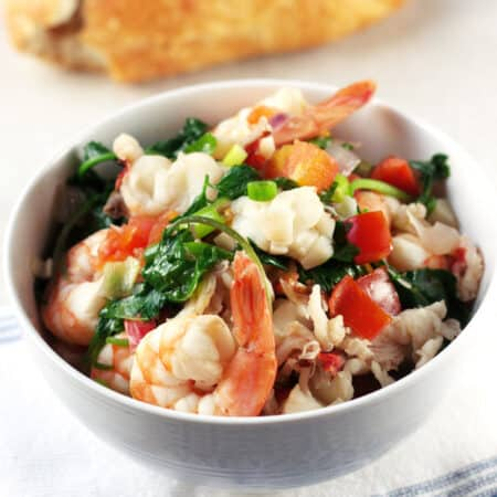 Seafood Stew with Shrimp and Lobster Recipe