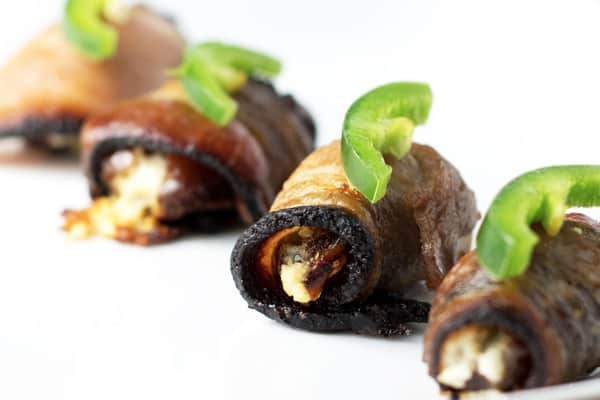 Dates after they have been baked