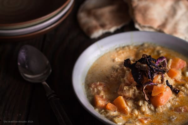 Curried Red Lentil and Sweet Potato Soup Recipe