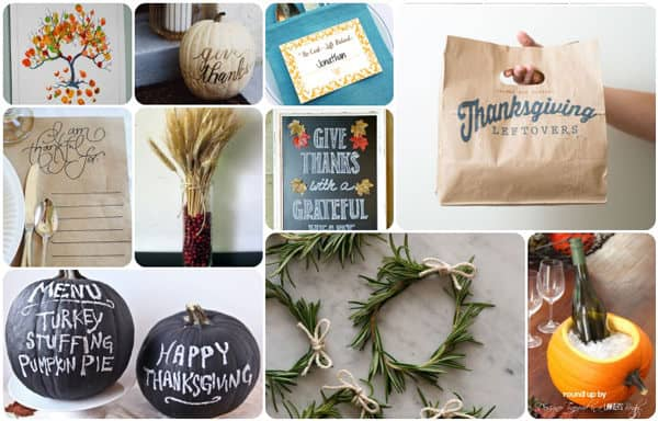 Thanksgiving DIY Ideas and crafts from a Designer Trapped in a Lawyer's Body