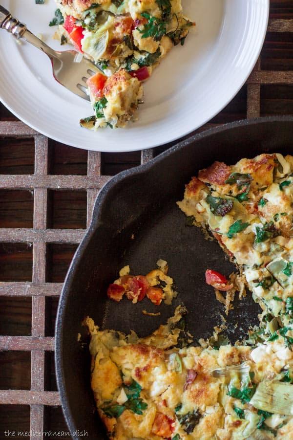 Easy Egg Casserole Recipe | The Mediterranean Dish