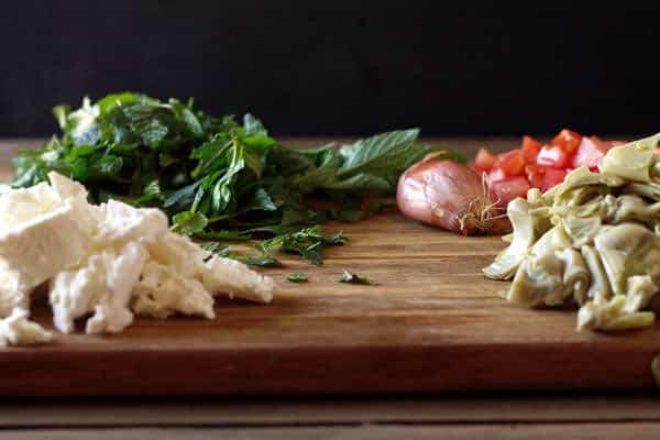 Vegetables for Egg Casserole