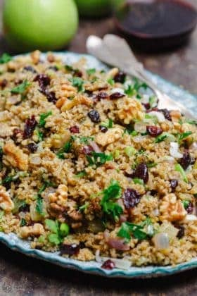 Cranberry Apple Freekeh