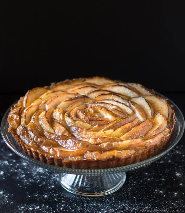 French Pear Tart Recipe | The Mediterranean Dish
