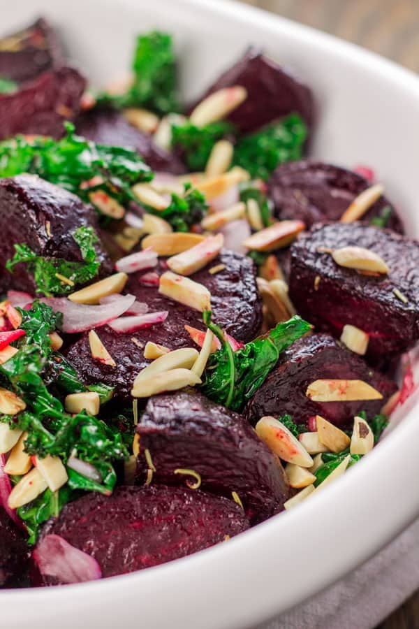Roasted Beet Salad With Kale and Almonds | The ...