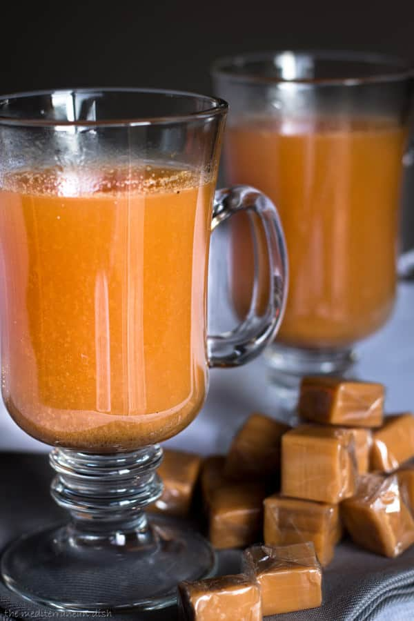 Mediterranean Style Thanksgiving Recipes | The Mediterranean Dish. This hot spiked apple cider with Italian liqueur along with other recipes from The Mediterranean Dish, David Lebovitz, Yotam Ottolenghi and more!