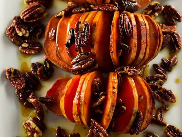 Sweet Potato Recipe with Pecans and Orange Glaze
