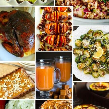 Thanksgiving Recipe Ideas plus DIY