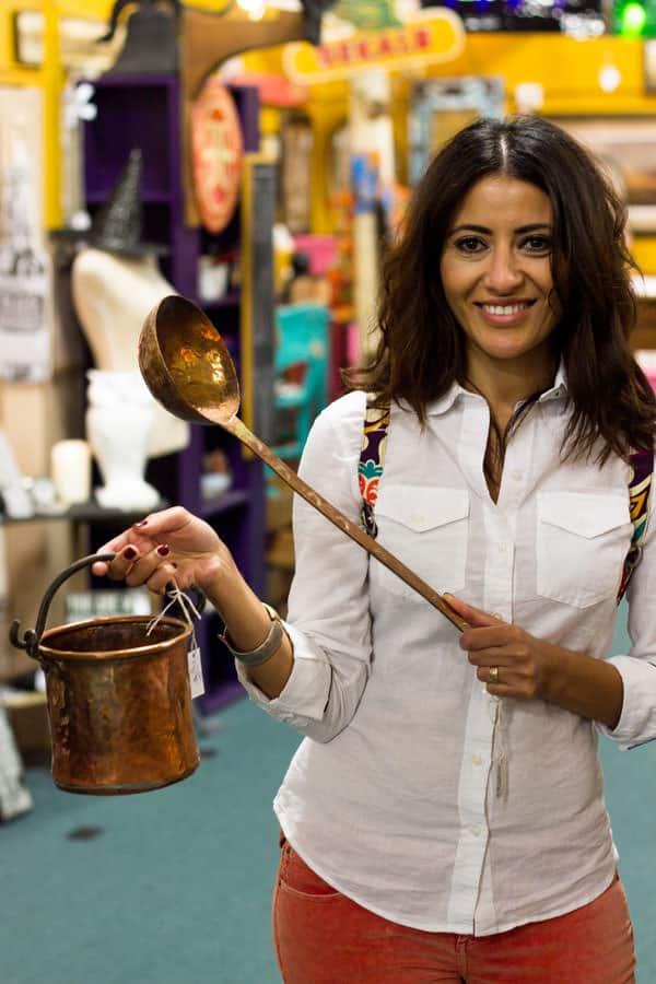 Suzy Karadsheh- Antiquing-The Mediterranean Dish