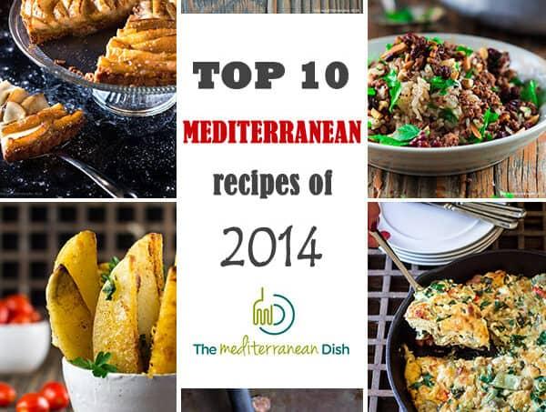 best Mediterranean recipes of 2014