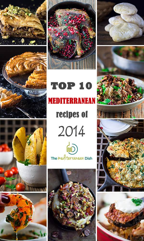 best Mediterranean recipes of 2014