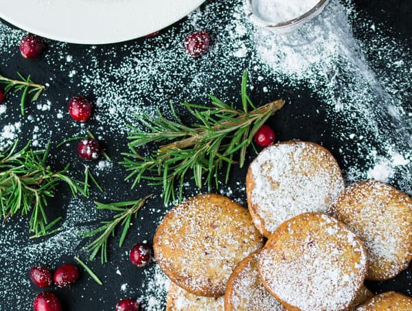 Cranberry Parmesan Shortbread Cookie Recipe