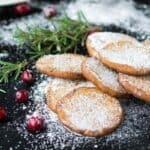 Cranberry Parmesan Shortbread Cookie Recipe