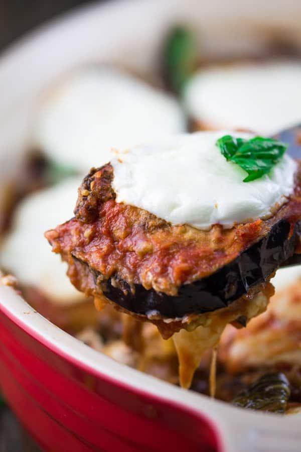 Eggplant parmigiana