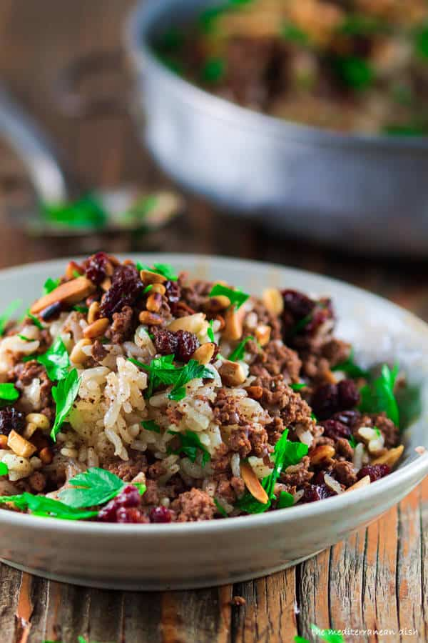 Hashweh Ground Beef and Rice Recipe