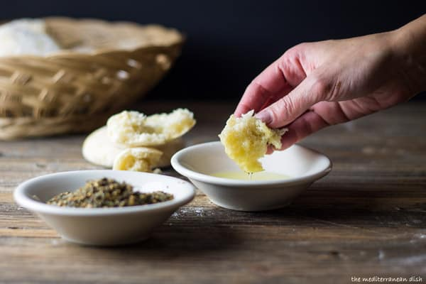 Homemade Pita Bread from The Mediterranean Dish