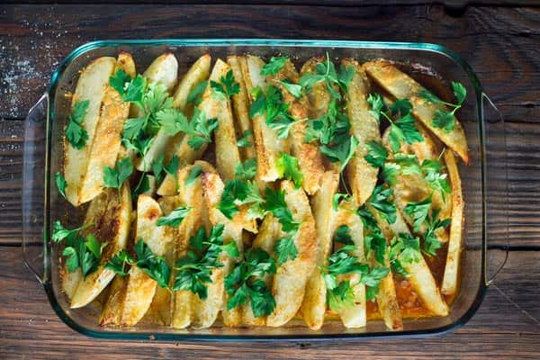 Roasted Greek Potatoes Recipe