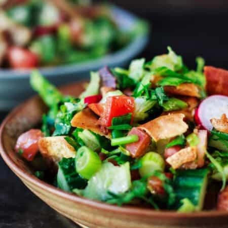 Mediterranean Fattoush Salad Recipe