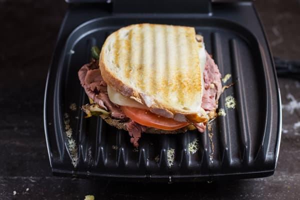 Grilled Roast Beef Sandwich