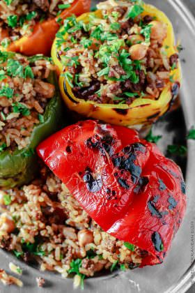 Mediterranean-Style Stuffed Peppers Recipe