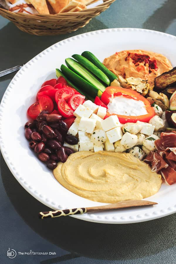 Mediterranean Dinner Party Ideas Part - 29: Mezze: How To Build The Perfect Mediterranean Party Platter | The Mediterranean  Dish . Ditch