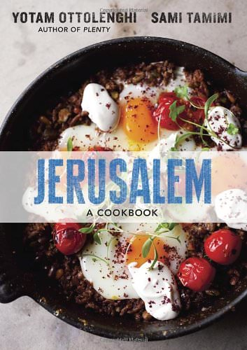 Jerusalem by Ottolenghi and Tamimi - The best cookbooks for a Mediterranean lifestyle