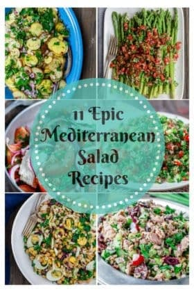 11 Epic Mediterranean Salad Recipes