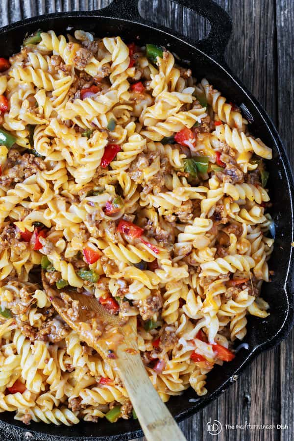 One-Skillet Macaroni and Cheese with Italian Sausage and ...