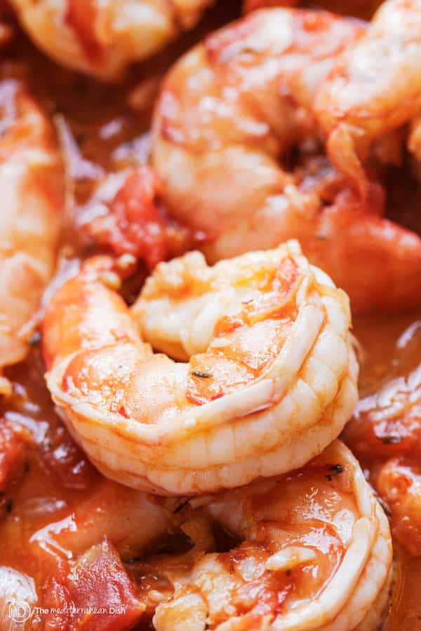 Garlic-Shrimp in sauce