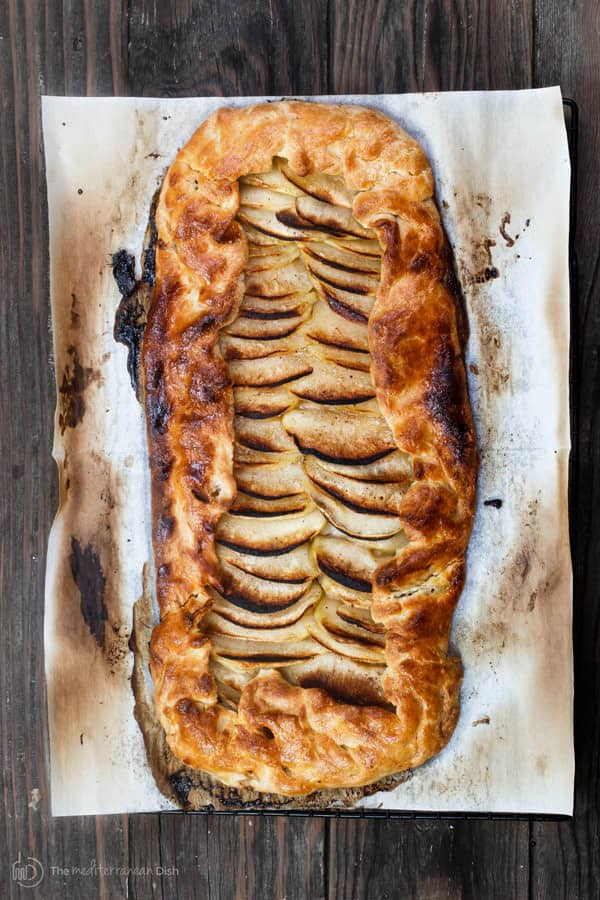 Simple Apple Galette Recipe with Butter Rum Syrup | The ...