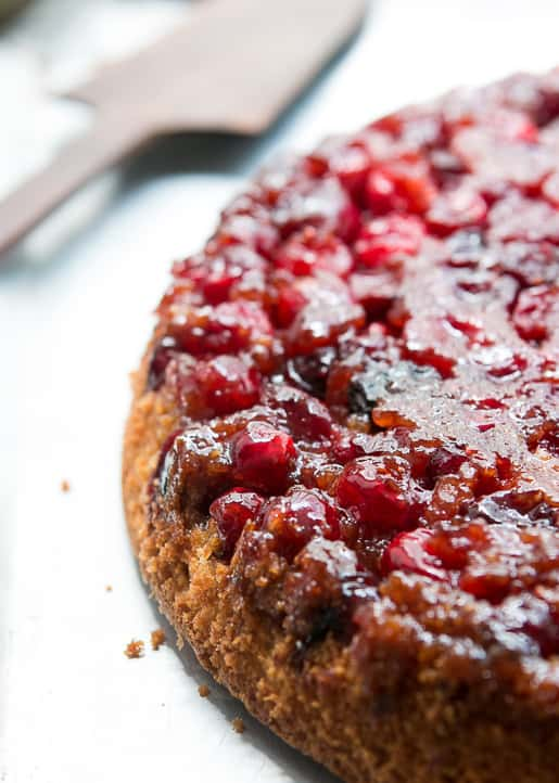 Mediterranean Style Thanksgiving Recipes | The Mediterranean Dish. David Lebovitz's Cranberry Upside Down Cake along with other recipes from The Mediterranean Dish, Yottam Ottolenghi and more!