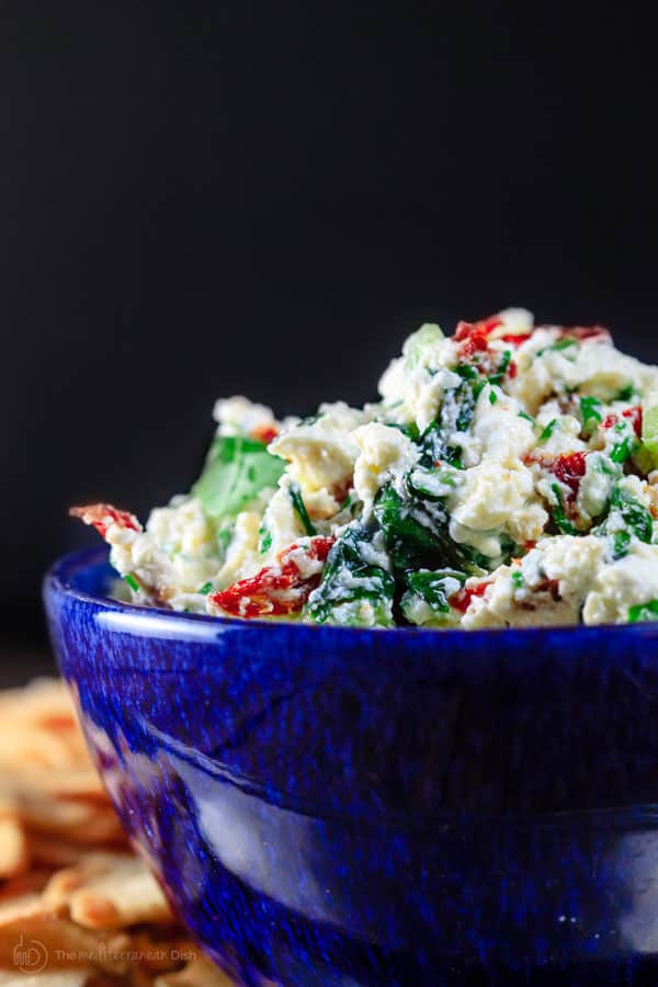 Bowl of Feta Cheese Dip