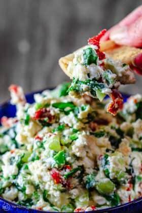 Last-Minute Mediterranean Feta Cheese Dip