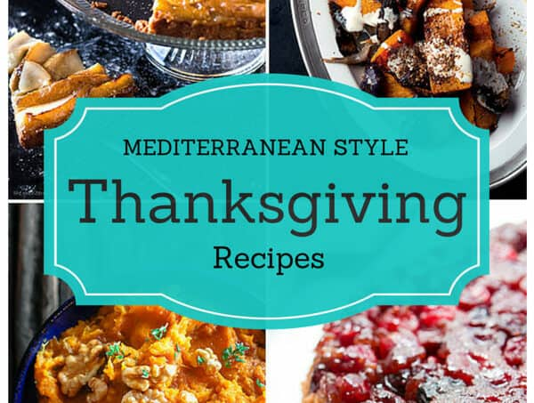 Mediterranean Style Thanksgiving Recipes | The Mediterranean Dish. Give the old classics a little Mediterranean twist with recipes from The Mediterranean Dish, David Lebovitz, Yotam Ottolenghi and more!