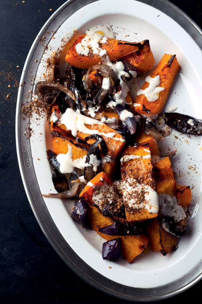 Mediterranean Style Thanksgiving Recipes | The Mediterranean Dish. Ottolenghi's Roasted Butternut Squash along with other recipes from The Mediterranean Dish, David Lebovitz and more!
