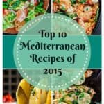 10 Top Mediterranean Recipes of 2015   The Mediterranean Dish. Must-try easy, wholesome Mediterranean recipes from The Mediterranean Dish! Each recipe comes with step-by-step photos. From seafood paella, to lime cilantro chicken, fattoush salad and roasted Greek potatoes. Mediterranean classics for today's busy cook!