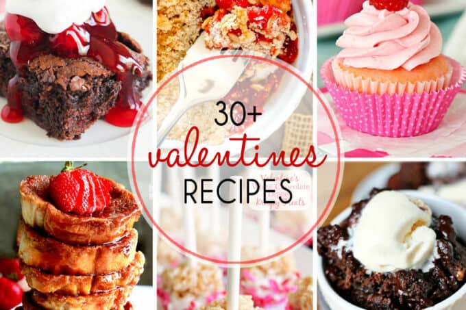More than 30 Valentine's Day Recipes | The Mediterranean Dish. From homemade chocolate with champagne and brandy to brownies, sweet cupcakes and more! There is something on this list for your Valentine! Check it out today.