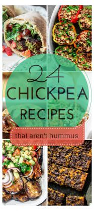 24 Awesome Chickpea Recipes that Aren't Hummus