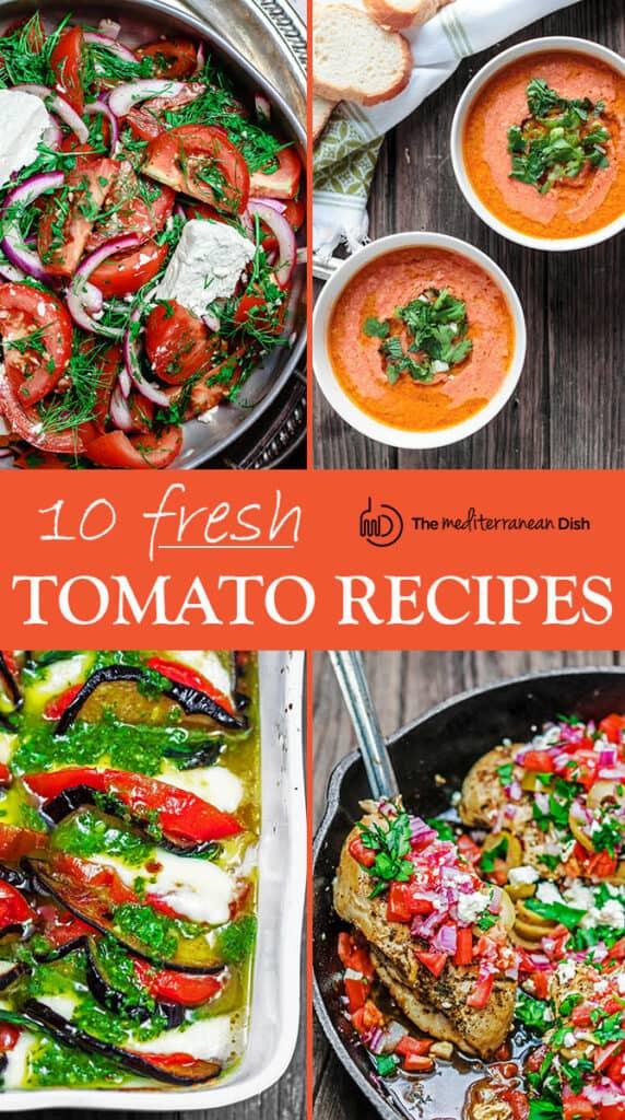 10 Fresh Tomato Recipes with a Mediterranean Twist