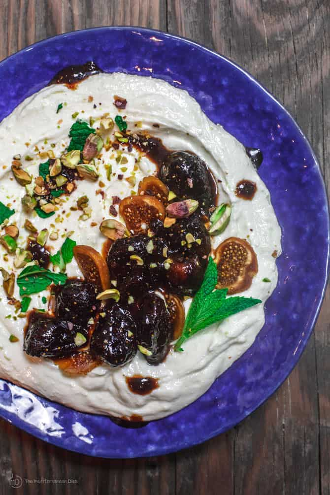 Whipped Feta Dip with California Figs and Marsala Sauce