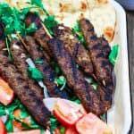 Top Mediterranean Recipe of 2016 | The Mediterranean Dish. Kofta Kebab Recipe. See this recipe and all 10 Mediterranean recipes on TheMediterraneanDish.com